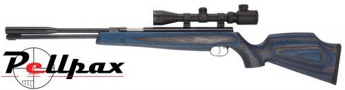 Weihrauch HW97K Blue-Grey Laminate .22