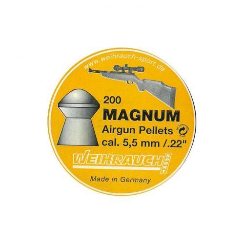 Weihrauch Magnum .22 Pellets x 200