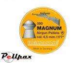 Weihrauch Magnum .177 Pellets x 500
