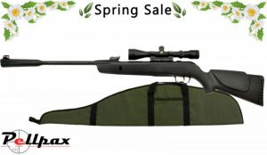 Gamo Whisper Sting - .177 Air Rifle + FREE Padded Gunbag & Scope