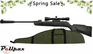 Gamo Whisper Sting Air Rifle - .22 + FREE Padded Gunbag & Scope