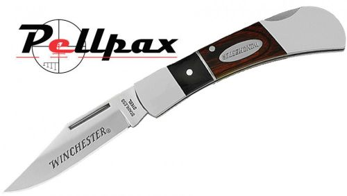 "Winchester 2.5"" DBL FE Folding Lock Knife"