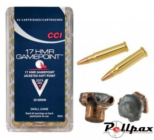 CCI Game Point SP .17HMR