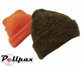 Camo Wooly Reversible Hat