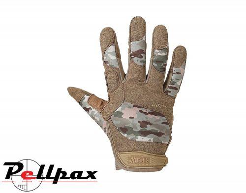 KinetiXx X-LIGHT Camouflage Tactical Gloves