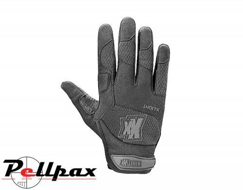 KinetiXx X-LIGHT Black Tactical Gloves