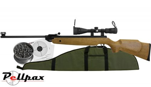 XS 20 Magnum Hunter .22 Air Rifle Combo