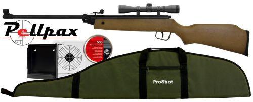 ProShot Fox Cub Starter Kit .177