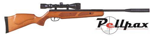 Pellpax XS19 Gas Ram Air Rifle .22 - Wood