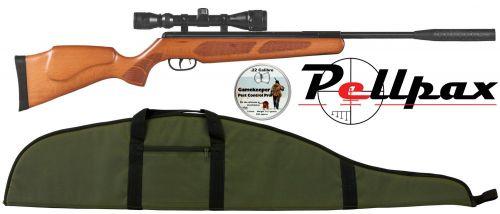 Pellpax Rabbit Sniper GS Wood Air Rifle .22
