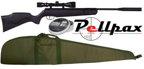 Pellpax Rabbit Sniper GS Tactical Air Rifle Kit .22