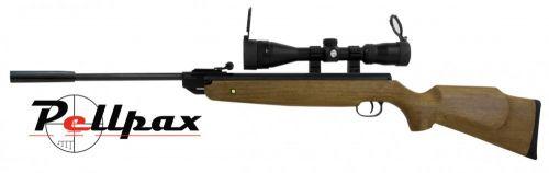 XS 20 Magnum Hunter .22 Air Rifle Combo