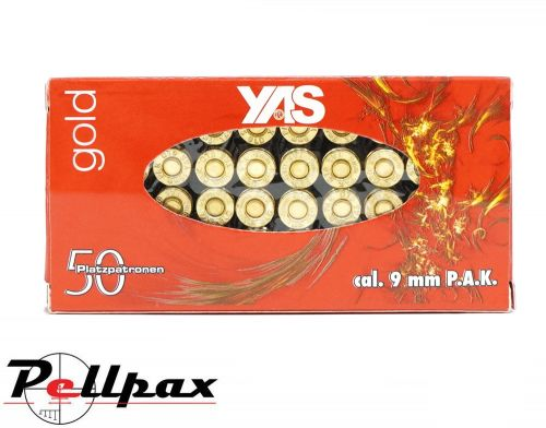 YAS Gold 9mm Blanks