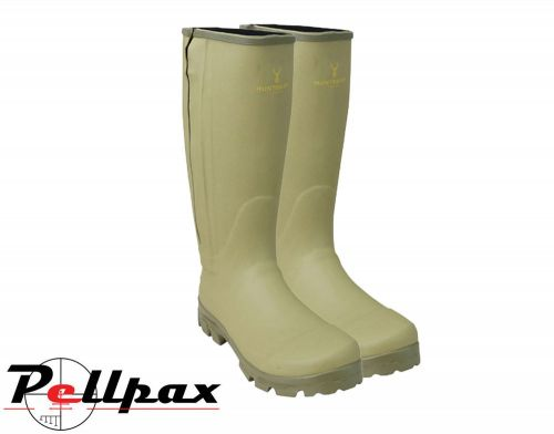 Hengrave Zipped Wellington Boot By Huntsbury