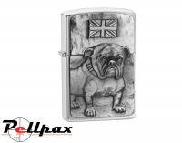 Zippo Bulldog Emblem Lighter