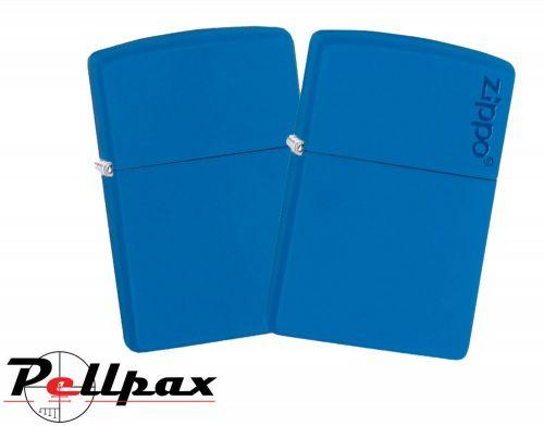 Zippo Royal Blue Classic & w/ Zippo Logo