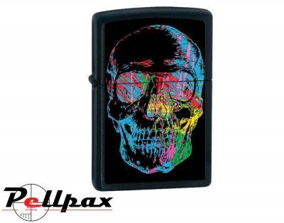 Zippo X-Ray Skull Lighter