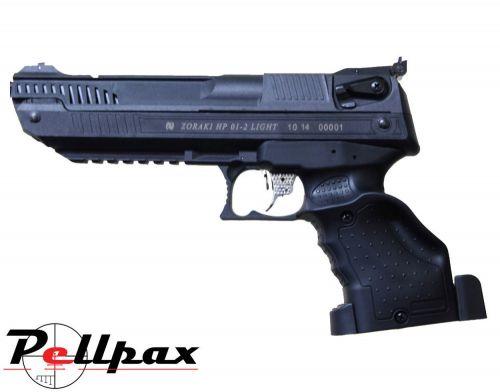Zoraki HP 01 (Webley Alecto) .177 Pellet Multistroke Pistol - Second Hand